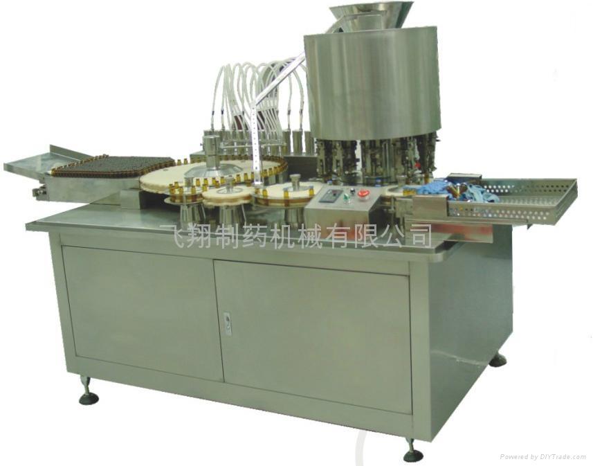 Oral liquor filling & sealing machine KGF12 1