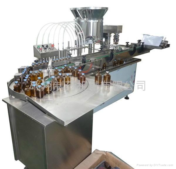 工廠價生產線液體灌裝封蓋機 2