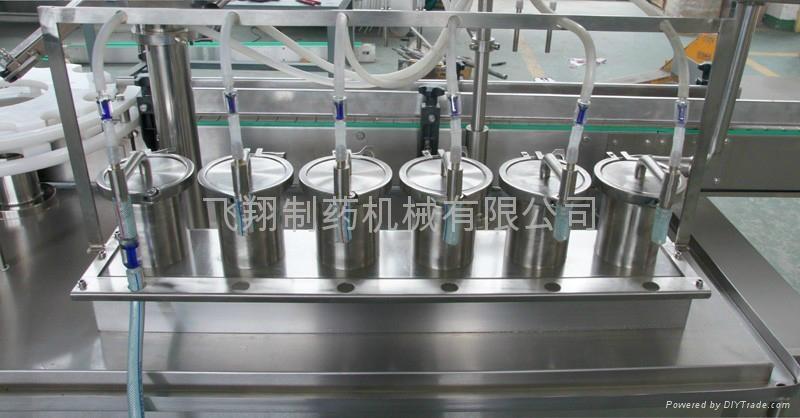 工廠價生產線液體灌裝封蓋機 4