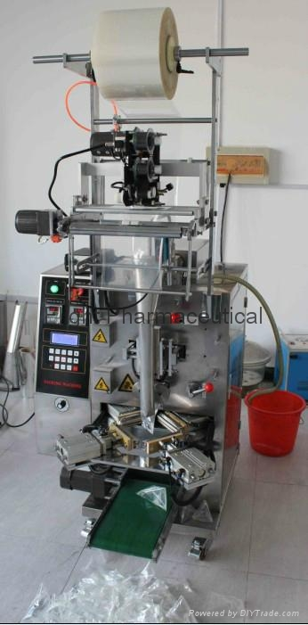 Automatic triangle-bag packing machine DCJS - 300 2