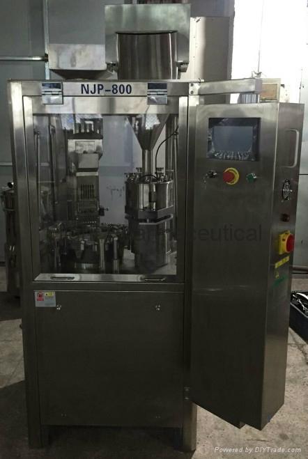 Fully automatic hard capsule filling machine NJP-800C 1