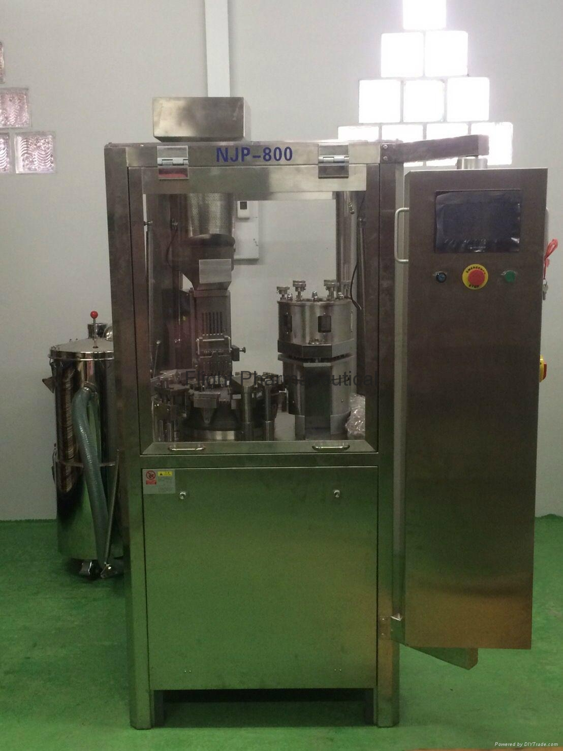 Fully automatic hard capsule filling machine NJP-800C 2
