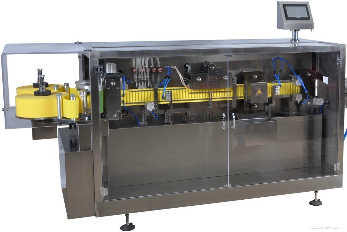 Automatic plastic ampoule filling & sealing machine GGS-118 2