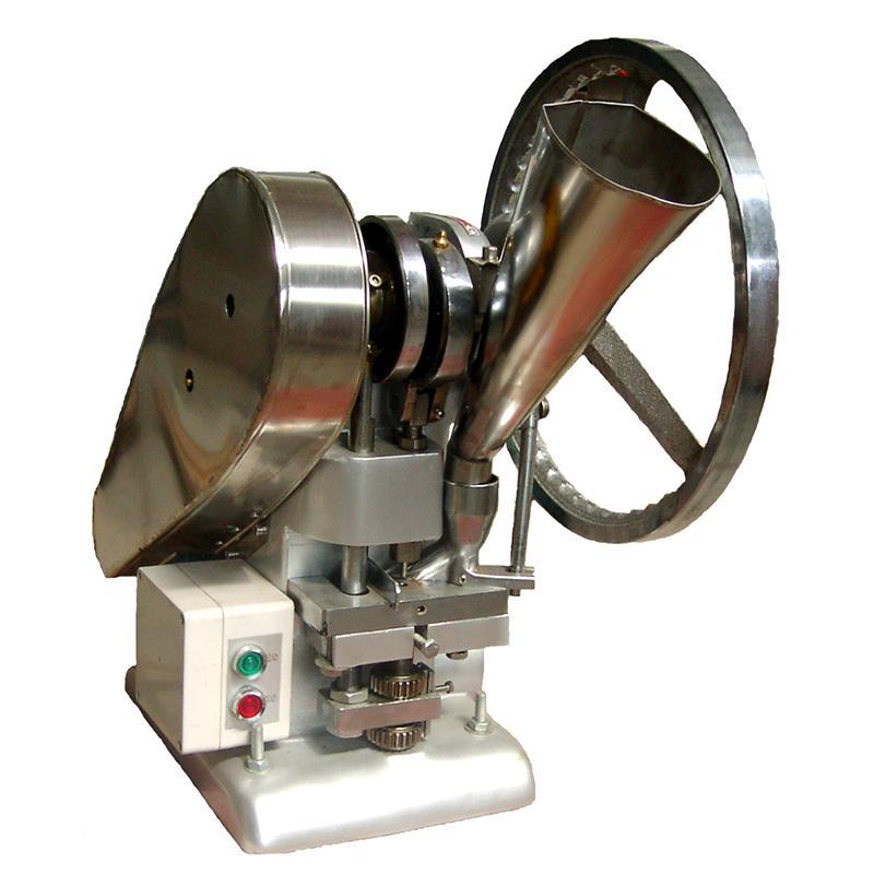 廠家直銷TDP-4 自動單沖壓片機 11