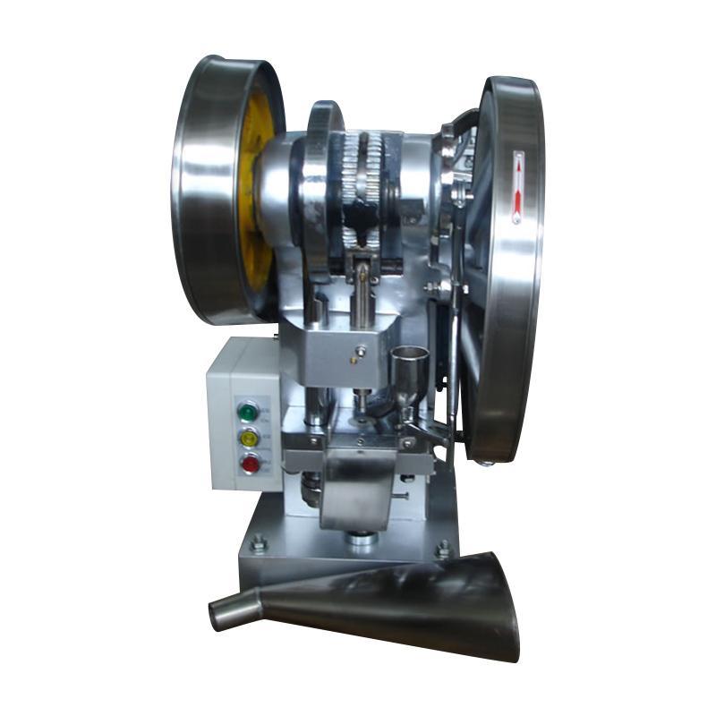 廠家直銷TDP-4 自動單沖壓片機 13