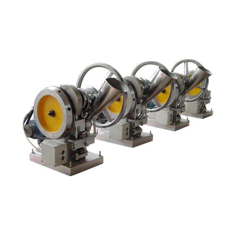 廠家直銷TDP-4 自動單沖壓片機 14