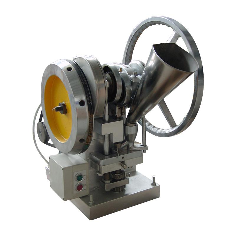 廠家直銷TDP-4 自動單沖壓片機 15