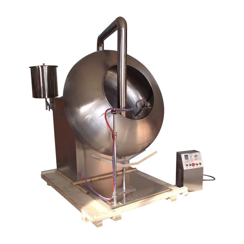 BYC-1000 荸薺式包衣機 (附帶噴霧裝置) 3