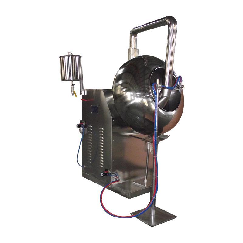 BYC-1000 荸薺式包衣機 (附帶噴霧裝置) 5