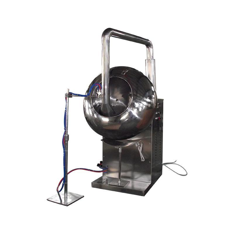 BYC-1000 荸荠式包衣机 (附带喷雾装置) 1