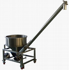 Vibrating screw feeding machine GS-4S series