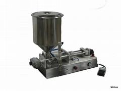 HSFA-500 膏體和液體兩用活塞式灌裝機
