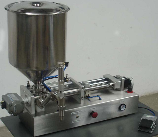 HSFA-60 膏體和液體兩用活塞式灌裝機 3