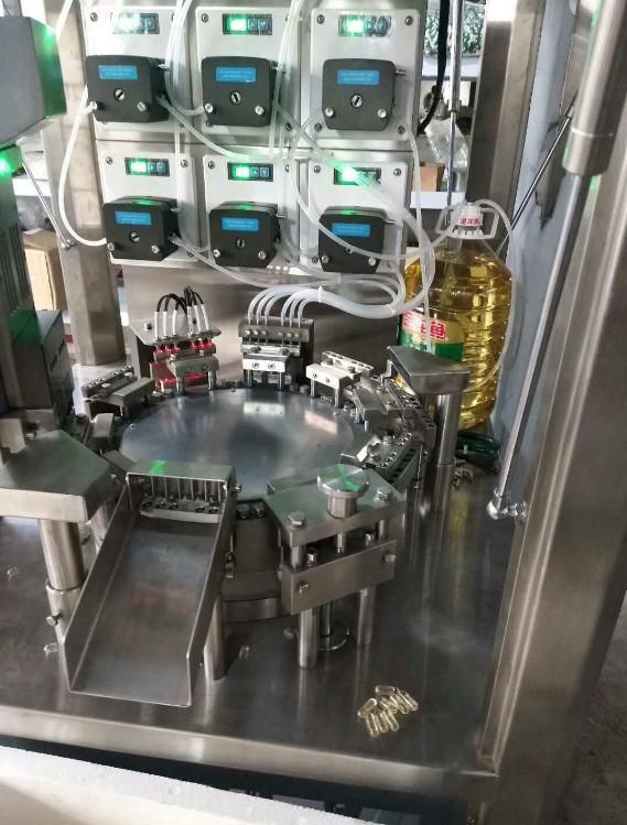 全自动液体微丸硬胶囊填充机 6