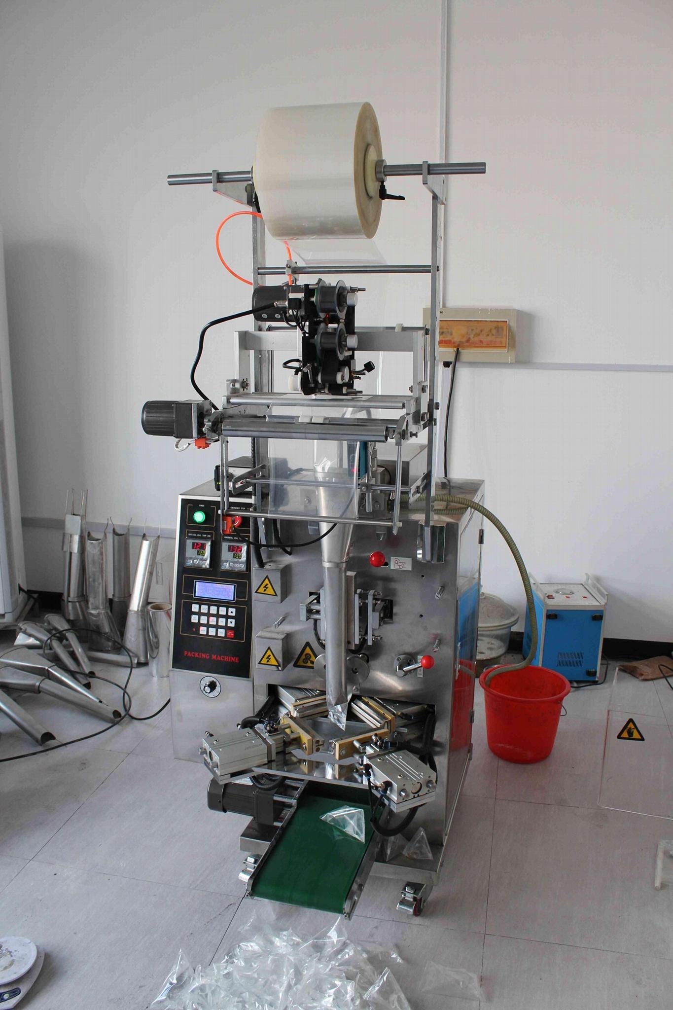 多功能自动三角袋包装机DCJS - 300 1