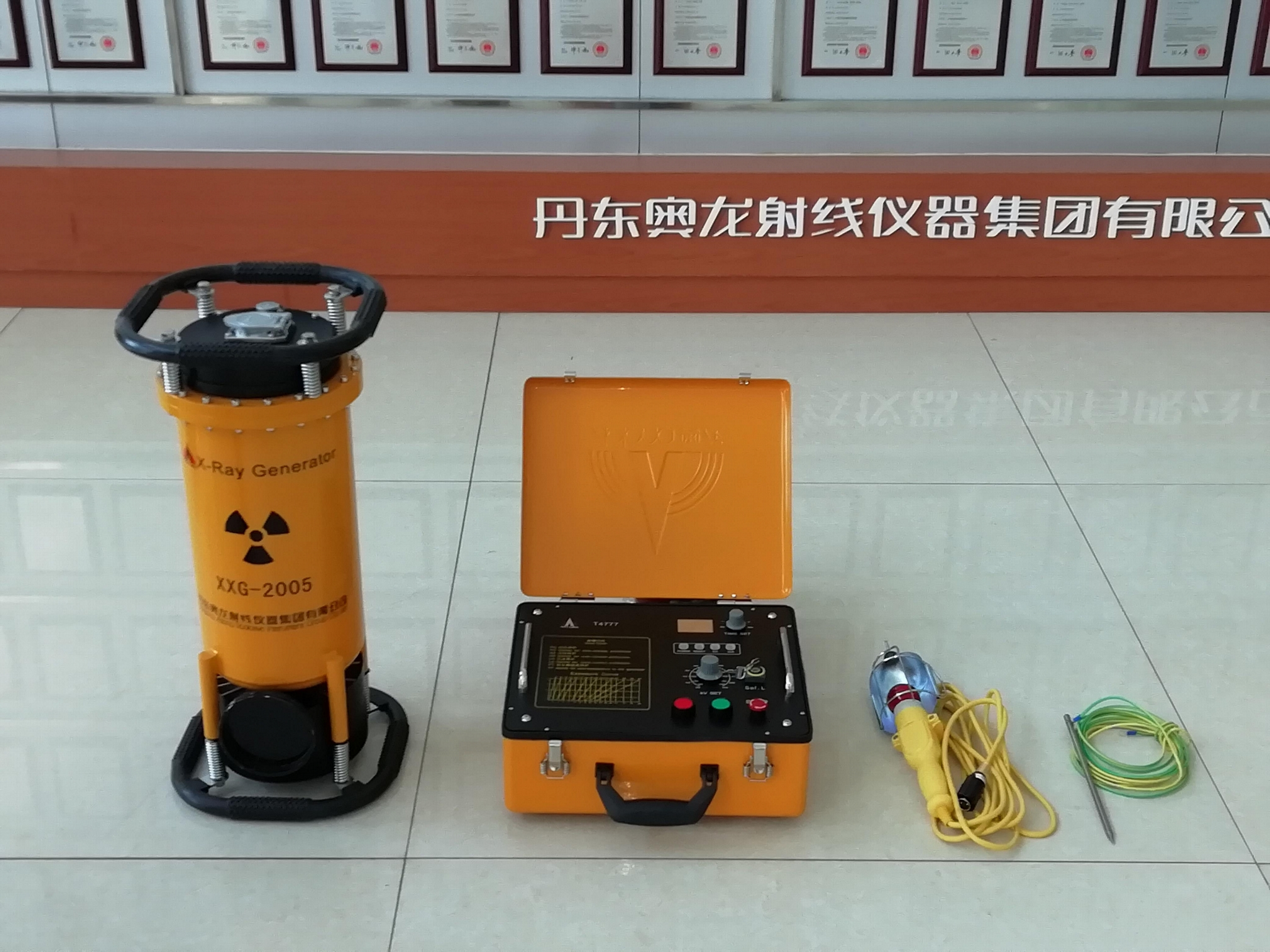 Frequency conversion portable x-ray flaw detector 4