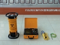 Frequency conversion portable x-ray flaw detector