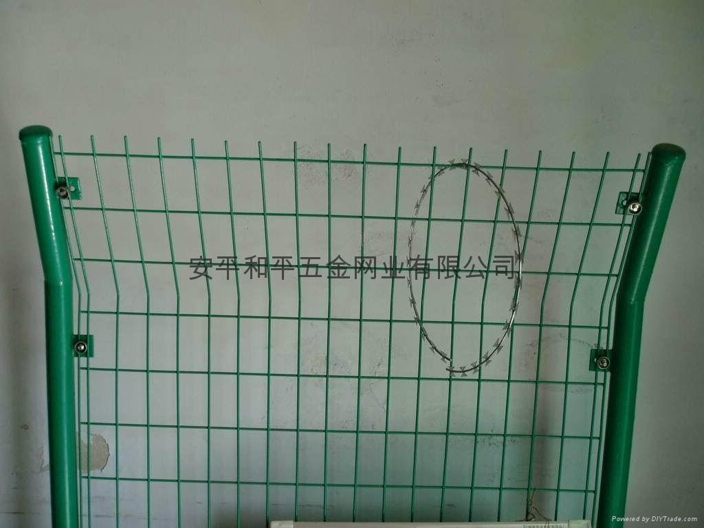 护栏网、防护栏、工厂防护网 1