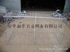 热镀10%铝锌合金钢丝石笼网