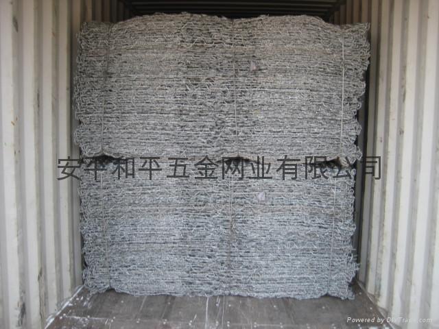 绿格网箱,绿格网垫,10%铝锌合金钢丝格宾网 2