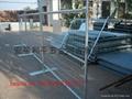 可移动护栏、可拆卸防护栏