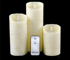 christmas gift remote control led  candles for sale