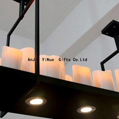 2014 personality led home lighting candle chandelier wax droplight