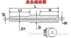 Tungsten Carbide Coil Winding Nozzle(Hard Alloy Coil Winding Nozzle) 2