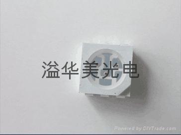 5050黄光三芯LED灯珠 3