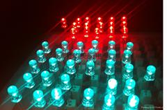 红色LED