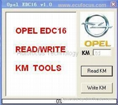 OPEL EDC16 Tool  Reading and Writing KM