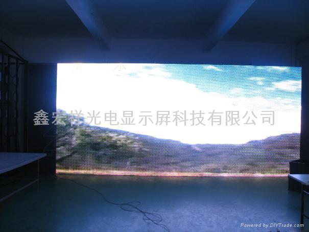 高密度戶外高清LED大電視 2