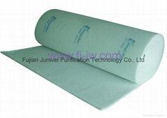 Spray booth ceiling filter 560G, 600G, cloth and scrim backing