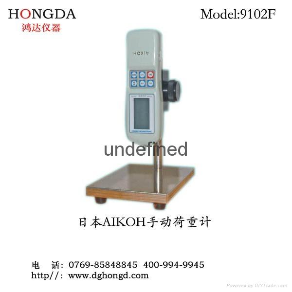 日本愛光硅橡膠按鍵專用手動荷重彈性儀9101F/9102F 1