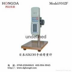 日本愛光硅橡膠按鍵專用手動荷重彈性儀9101F/9102F