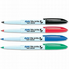 Expo Vis-a-Vis Wet Erase Markers水溶记号笔