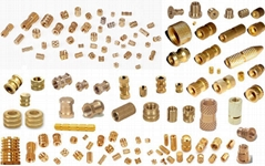Brass Fittings, Brass inserts, Brass Valves, Brass fasteners, Flanges etc