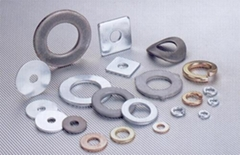 Steel Washer, Stainless Steel Washer, Brass Washer, Titanium Washer, Stampings