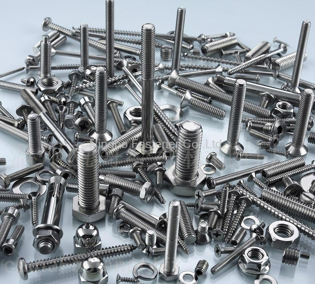 stainless steel fasteners bolts nuts washers screws