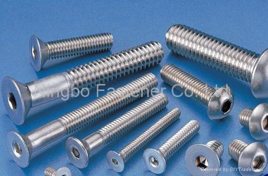 Stainless Steel Fasteners Bolts nuts washers screws anchors pins rivets studs 3