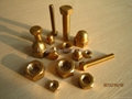 Brass dog bolt with wing nut / Brass butterfly bolt with wing nut, fasteners etc 3