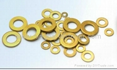 Brass washers Brass stampings Brass components