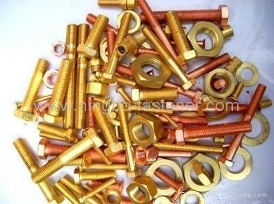 Copper bolts, Copper screws, Copper washers, Copper fasteners etc 1