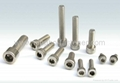 Stainless steel socket cap screws