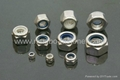 Stainless steel nyloc nuts (ISO, DIN, ANSI, BS, AS, UNI, JIS,Non-standard)