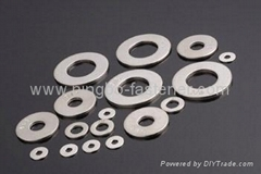 Stainless steel flat washers( ISO, DIN, USS, SAE, BS, AS, UNI, JIS etc)