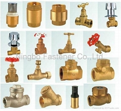 Brass valves Compression fittings Brass fasteners Brass dog bolts Water hose