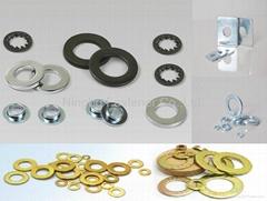 Flat washer, Spring lock washer, Square washer, Brass washer, Stamping etc