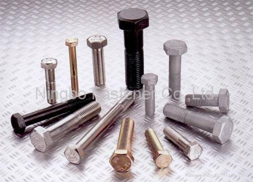 Hex Head Bolts ( ISO, DIN, ANSI, AS, BS, JIS, UNI, Non-Standard ) 1