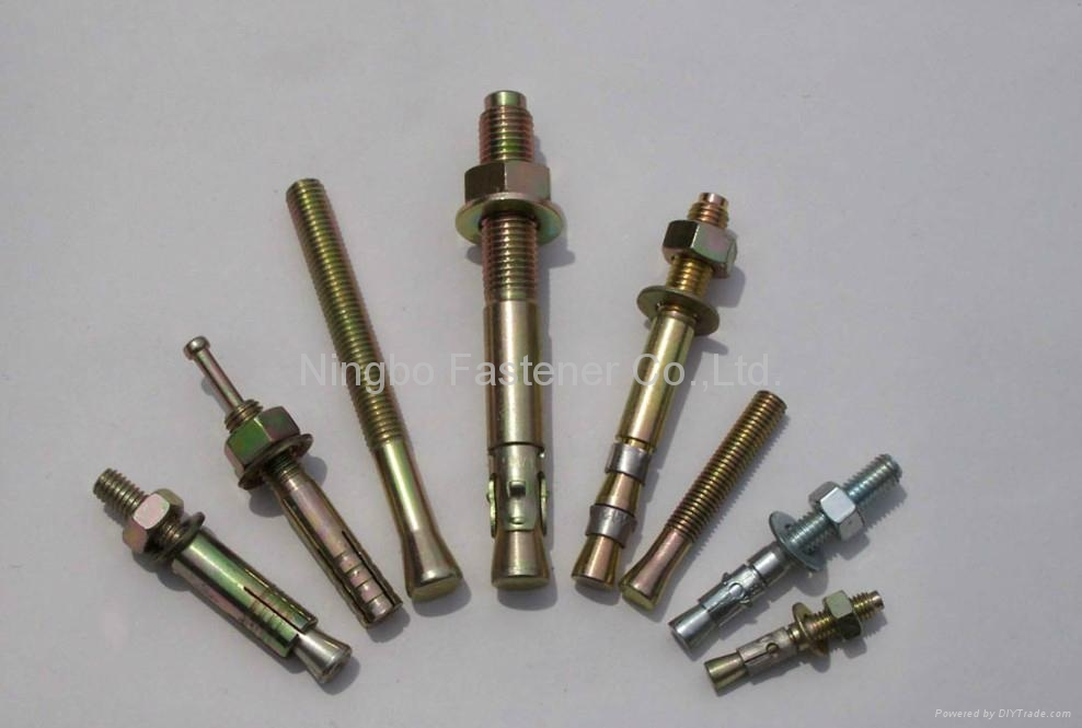 Wedge Anchors Bolt Anchors etc Anchors Fixings 1